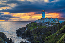 Fanad Lighthouse at Sunrise, Donegal, Ireland