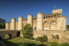 Aljaferia Palace, Zaragoza, Aragon, Spain