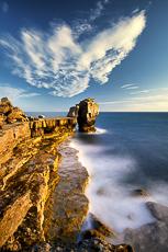 Pulpit Rock, Portland Head, Dorset, England