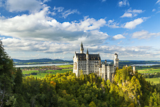 Neuschwanstein Castle, Schwangau, Bavaria, Germany