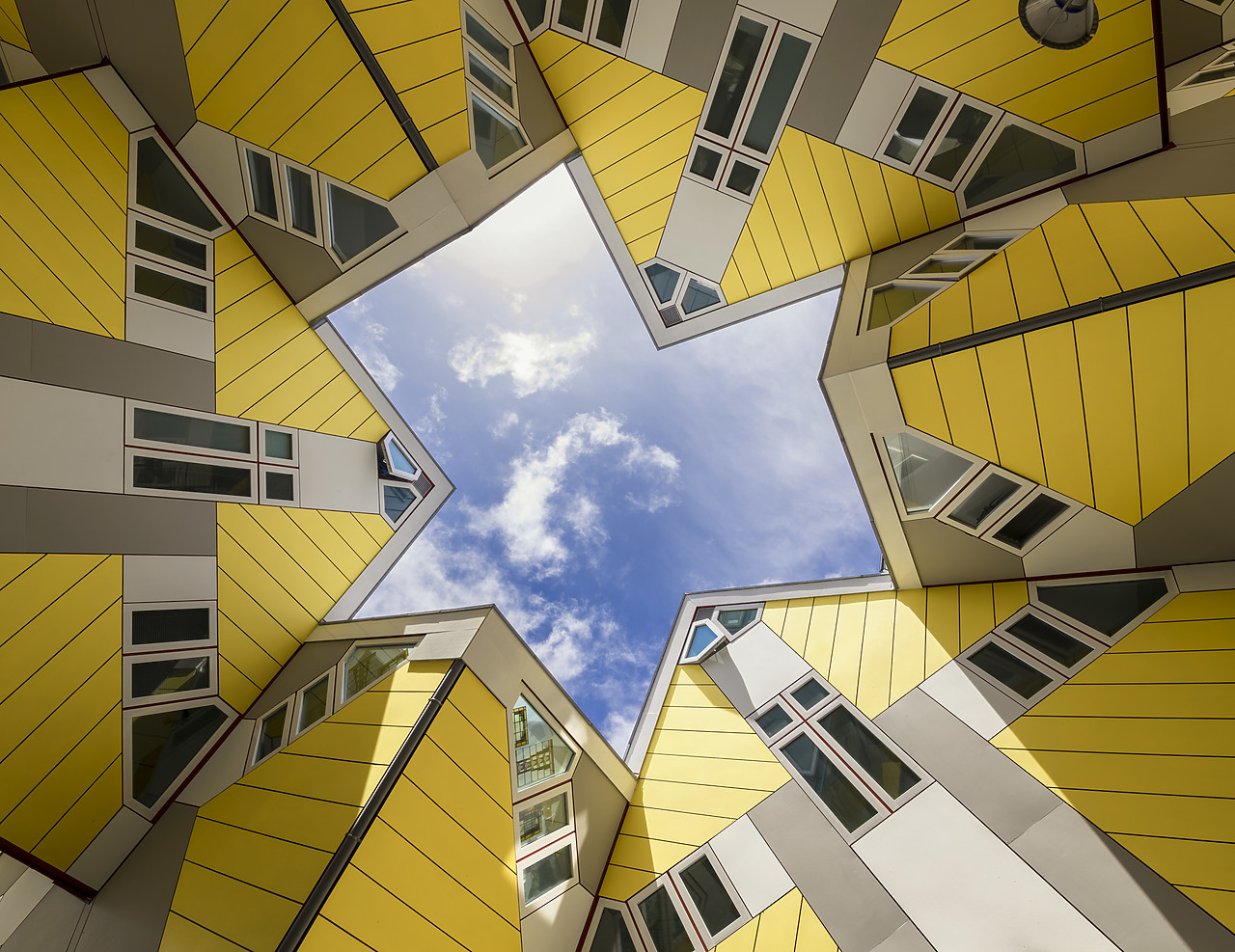 #180333-1 - Cube Apartments (Architect: Piet Blom), Rotterdam, Holland, Netherlands