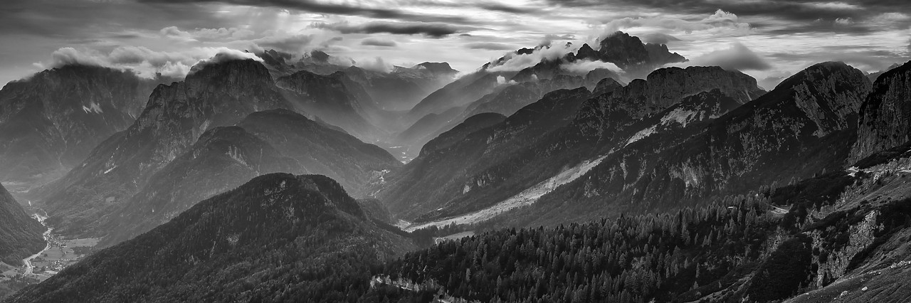#180447-1 - Mangart Pass, Triglav National Park, Julian Alps, Slovenia