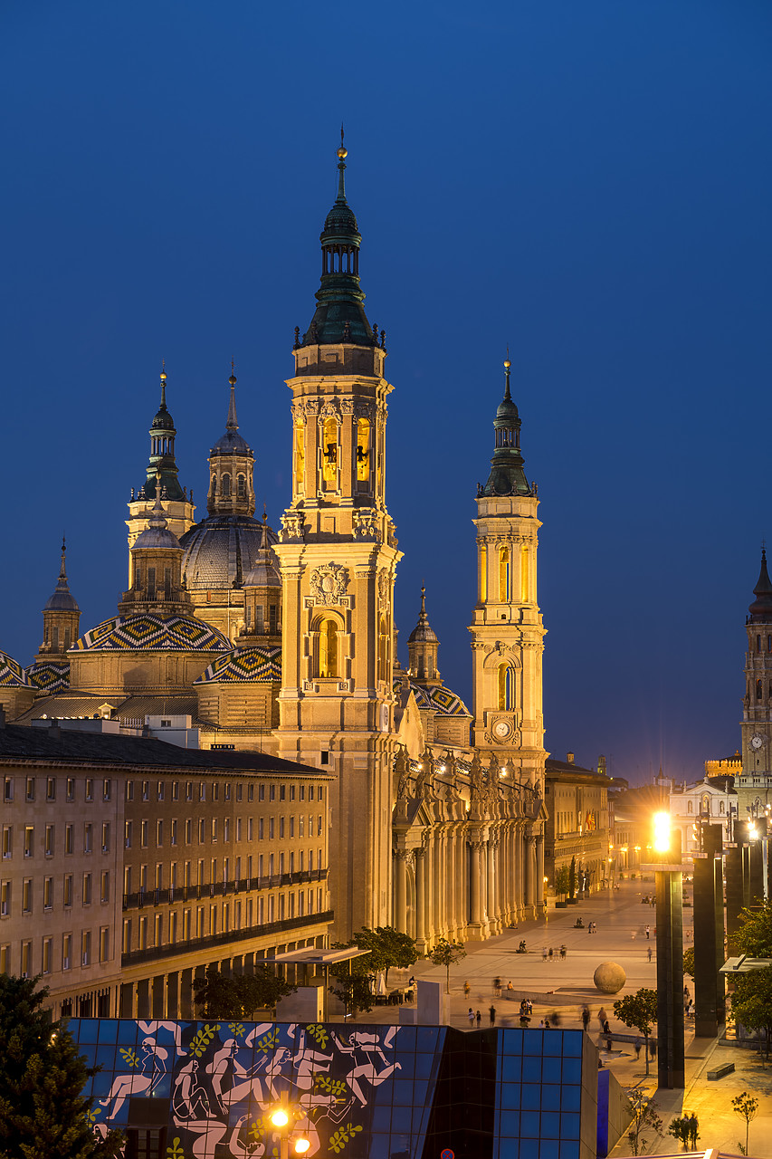 #190503-2 - Basilica-Cathedral of Our Lady of the Pillar, Zaragoza, Spain