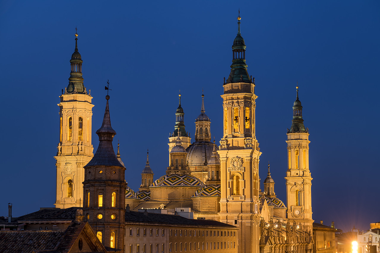 #190503-3 - Basilica-Cathedral of Our Lady of the Pillar, Zaragoza, Spain