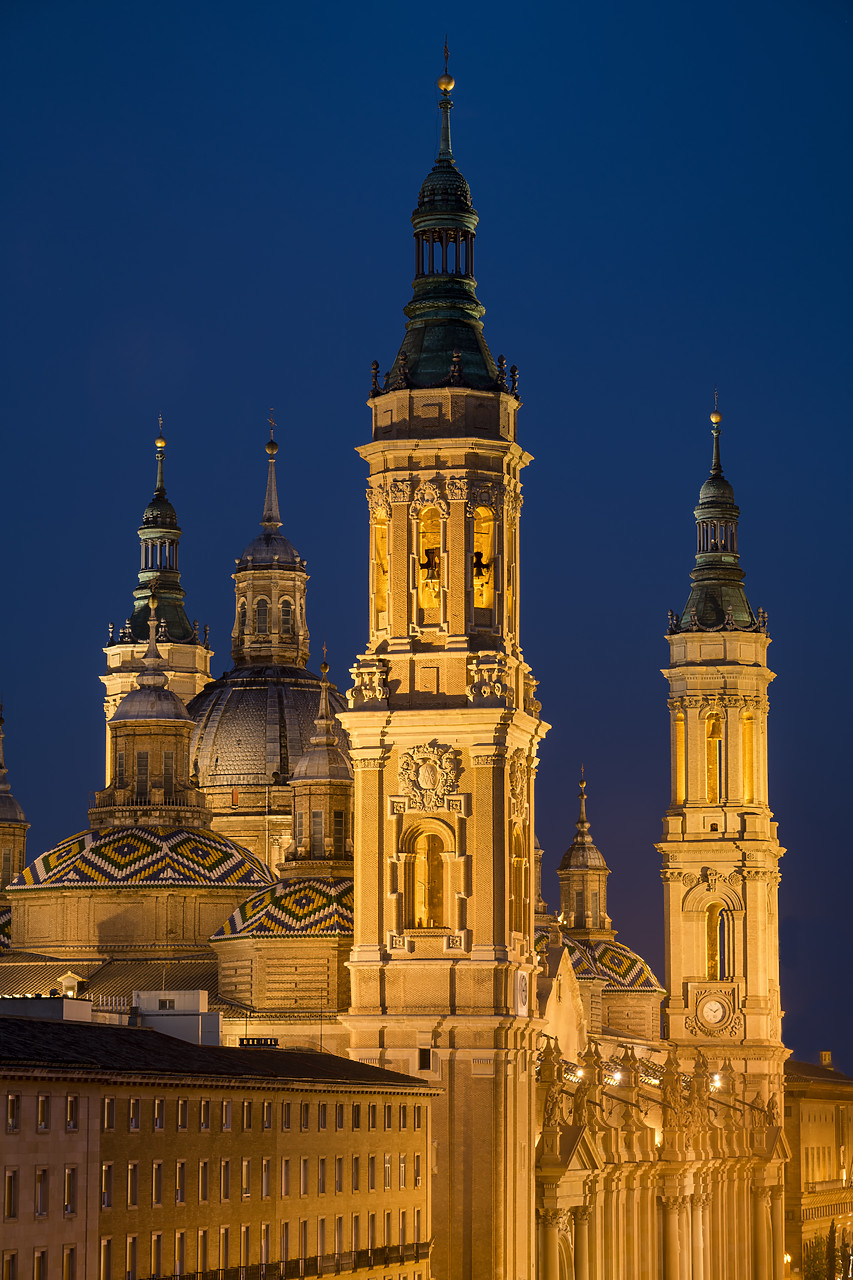 #190503-4 - Basilica-Cathedral of Our Lady of the Pillar, Zaragoza, Spain