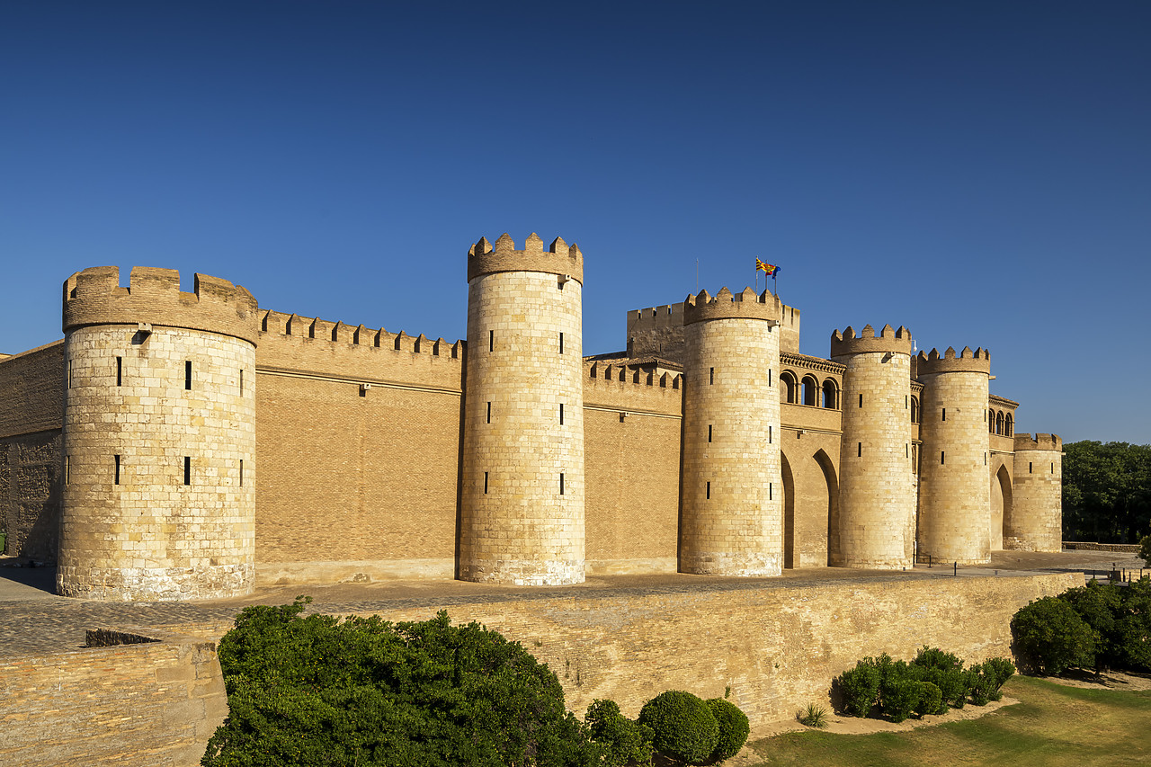 #190505-1 - Aljaferia Palace, Zaragoza, Aragon, Spain