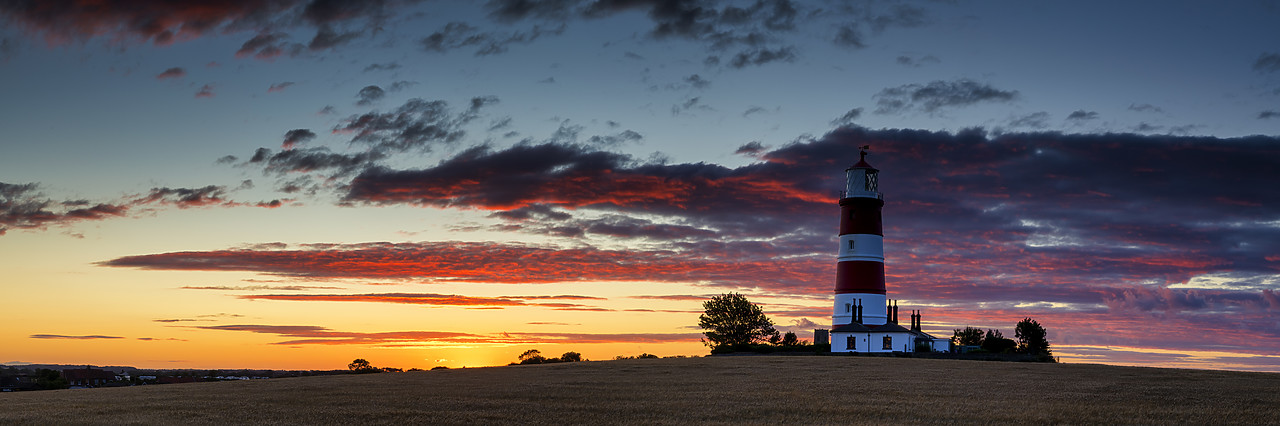#400147-1 - Happisburgh Lighthouse at Sunset, Happisburgh, Norfolk, England