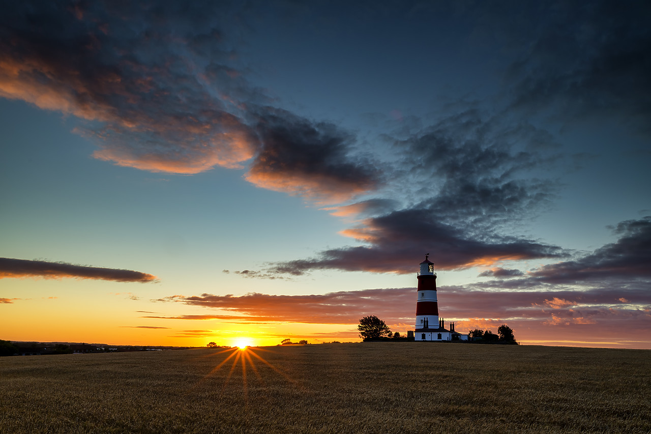 #400148-1 - Happisburgh Lighthouse at Sunset, Happisburgh, Norfolk, England