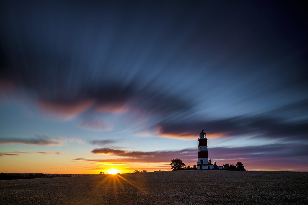 #400149-1 - Happisburgh Lighthouse at Sunset, Happisburgh, Norfolk, England