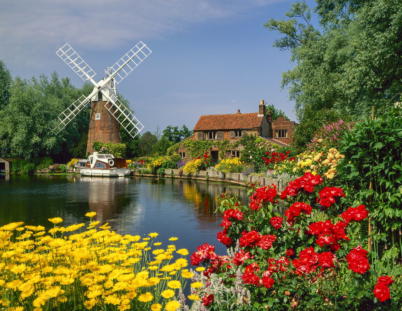 #955594-1 - Hunset Mill on the River Ant, Norfolk, England
